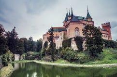 Old castle in Slovakia. Old Bojnice castle in Slovakia stock photos