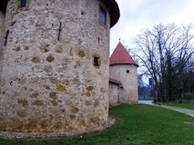 Old Castle in Slovenia Stock Images