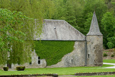Old Castle in Spontin Royalty Free Stock Photo