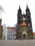 Old castle square Germany Royalty Free Stock Photography