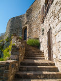 Old castle stairs Royalty Free Stock Images