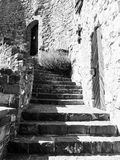Old castle stairs Stock Image