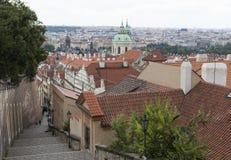 Old Castle Steps. Prague, Czech Republic Royalty Free Stock Photos
