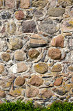 Old castle stone wall background Royalty Free Stock Images