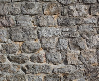 Old castle stone wall Stock Image