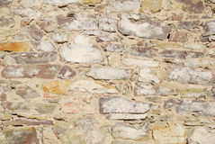 Old castle stone wall Stock Photos