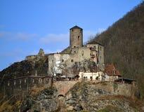 Old castle Strekov Stock Photography