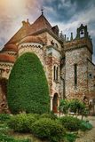 Castle in Hungary Royalty Free Stock Photography