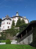 Old Castle in tirol, austria. Beautiful old castle in tirol Royalty Free Stock Photography