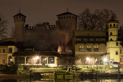 Old castle in Torino Stock Photo
