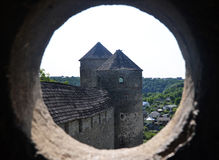 Old castle tower Royalty Free Stock Photos