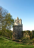 Old castle tower in Largoet. Near Vannes Royalty Free Stock Image