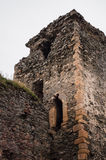 Old castle tower ruins Royalty Free Stock Photo