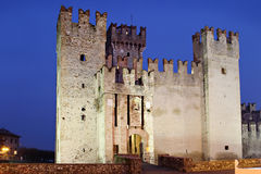 Old castle with towers Stock Image