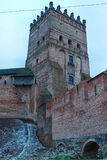 Old castle in town Lutsk Royalty Free Stock Photography