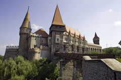 Old castle in Transylvania - Romania Royalty Free Stock Image