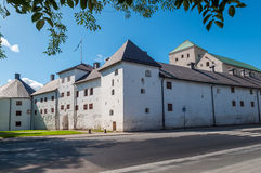 Old castle in Turku, Finland Stock Images