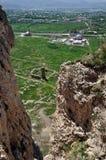The old castle at Van - Eastern Turkey. Stock Photos