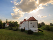 Old Castle of Varazdin Royalty Free Stock Images