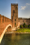Old castle, Verona, Italy Stock Image