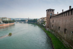 Old Castle Verona Royalty Free Stock Photo