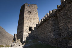 Old castle. View of an old castle in Georgia stock image