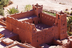 Old castle in the village Ait-Ben-Haddou Stock Photo