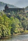 Old castle of Vranduk. Old town of Vranduk medieval Bosnian castle Royalty Free Stock Photos