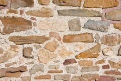 Old Castle Wall Royalty Free Stock Photo