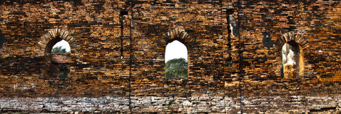 Old castle wall. The ruin of old castle wall royalty free stock photos