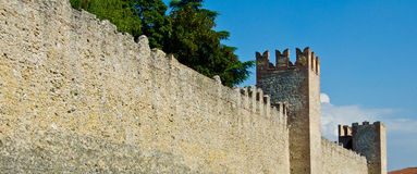 Old Castle wall Stock Photography