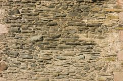 Old castle wall as a background Stock Photography
