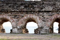 Old castle walls Royalty Free Stock Images
