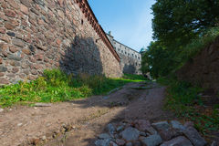 Old castle walls Stock Photography