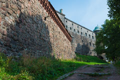 Old castle walls Stock Photo