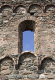 Old castle window Royalty Free Stock Image