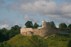 Free Old Castle &x28;Fortresson The Hill&x29;. Izborsk Fortress, Pskov Region, Russia, Europe. Stock Image - 10733661