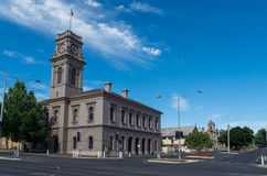 Old Castlemaine Post Office Stock Photo