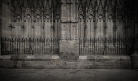 Old cathedral architecture details Royalty Free Stock Photo