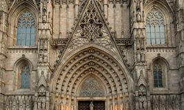 Cathedral in Barcelona Royalty Free Stock Photo