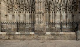 Cathedral in Barcelona Stock Photos