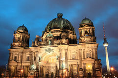 Old cathedral of Berlin Stock Photography