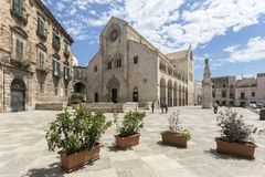Old cathedral in Bitonto Italy Royalty Free Stock Photography