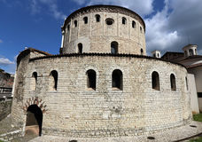 Old Cathedral of Brescia Royalty Free Stock Photography