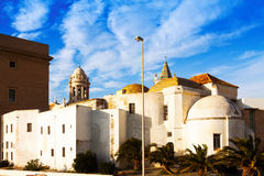 Old  Cathedral  in   Cadiz Royalty Free Stock Photography