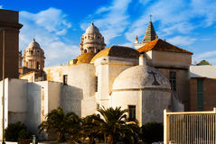 Old  Cathedral  in  Cadiz Stock Image