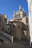Old Cathedral of Coimbra Royalty Free Stock Photos