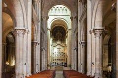 Old Cathedral, Coimbra Stock Photos