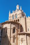 The Old Cathedral of Coimbra Stock Image