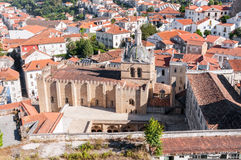 The Old Cathedral of Coimbra Stock Photography